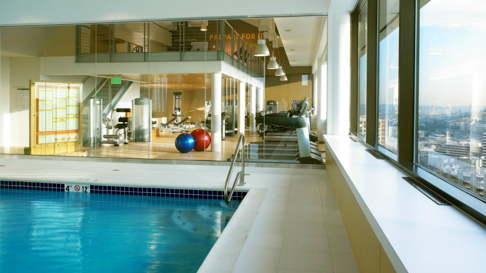 Fitness Center - Sheraton Seattle Hotel