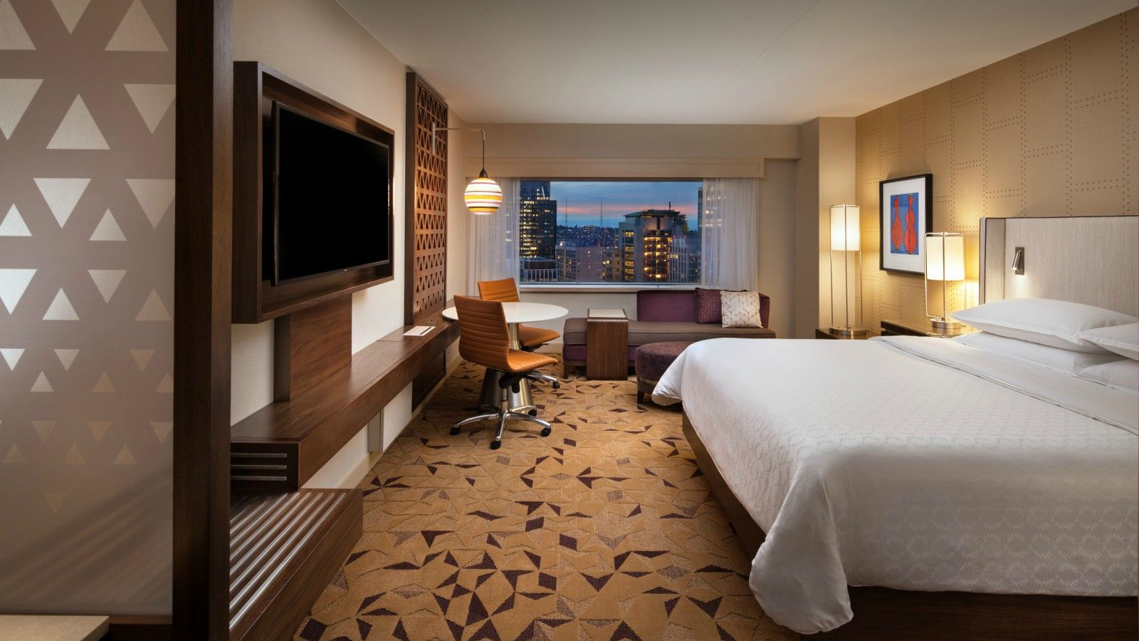 Downtown seattle hotels sheraton seattle hotel for Hotel design 77