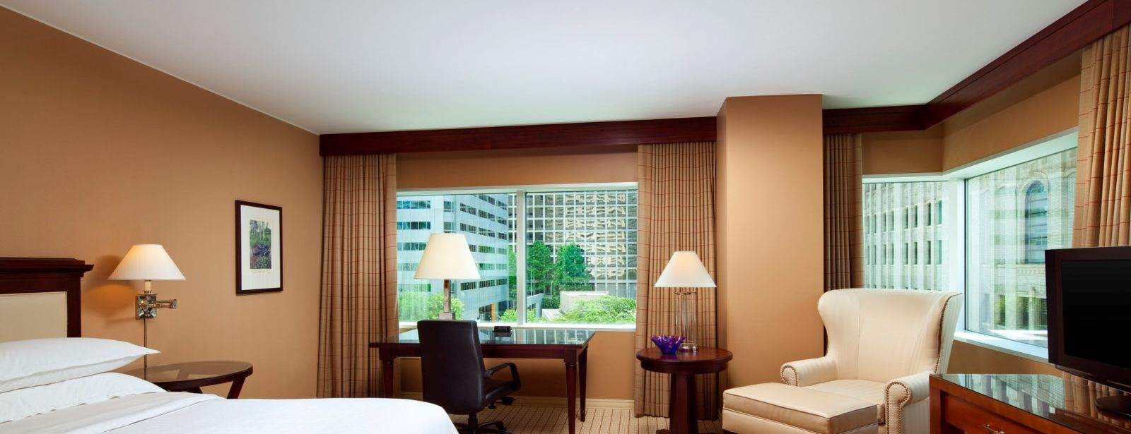 Sheraton Seattle Hotel - Deluxe Room