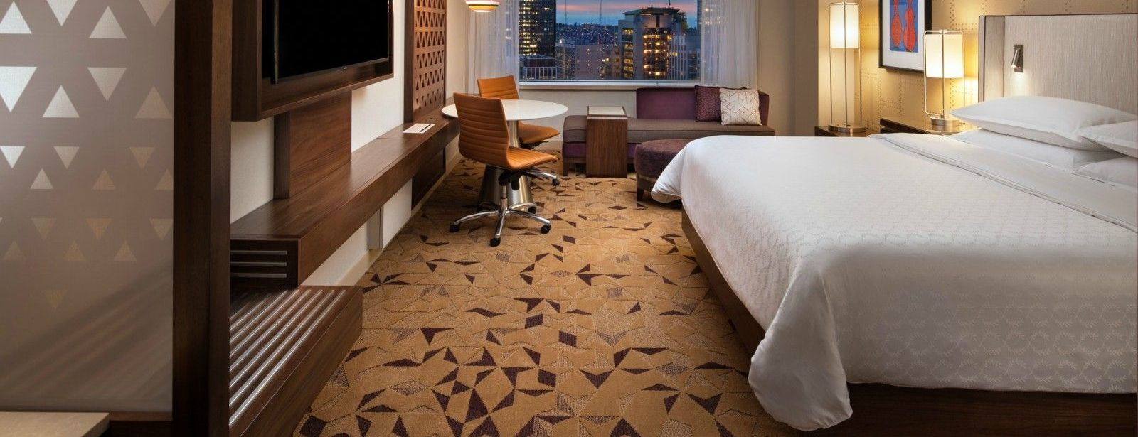 Sheraton Seattle Hotel - Club Room